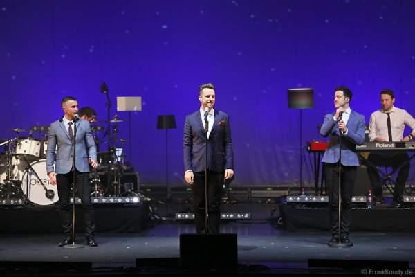 The Overtones beim Konzert mit The Overtones am 18. Februar 2013 in der Jahrhunderthalle Frankfurt