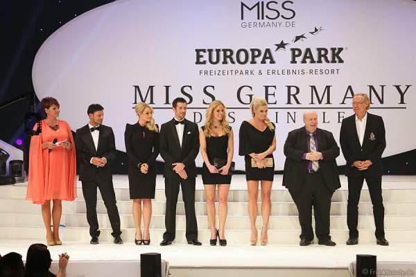 Die Jury der Miss Germany 2013 Wahl