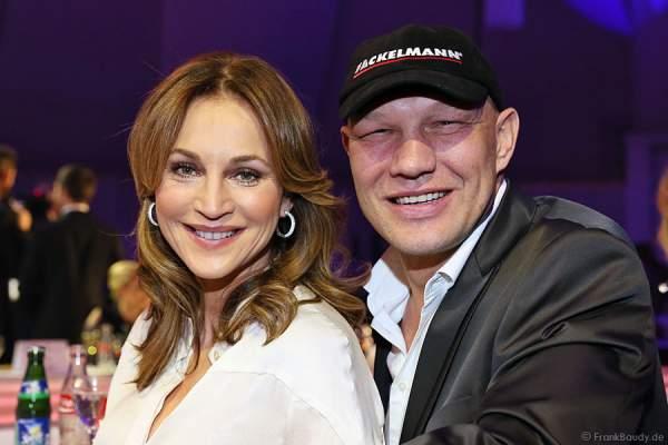 Caroline Beil und Axel Schulz bei der Miss Germany 2013 Wahl