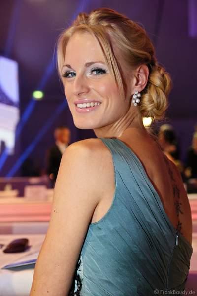 Anne-Kathrin Kosch, ehemalige Miss Germany 2011, bei der Miss Germany 2013 Wahl