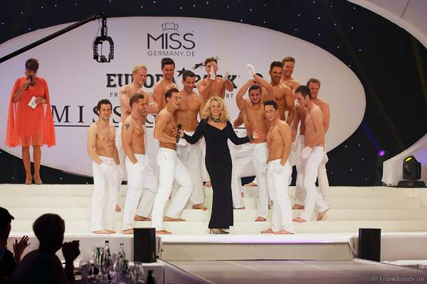 Caren Miller und Mister Germany