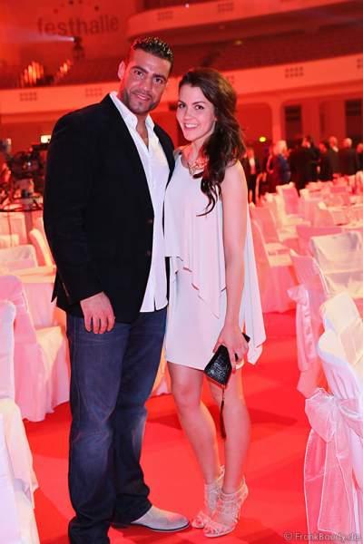 Manuel Charr und Anna-Lea Mende