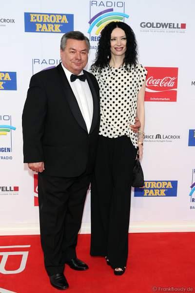 Waldmar Hartmann mit Ehefrau Petra