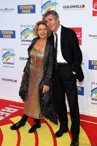 Michaela May mit Ehemann  Bernd Schadewald