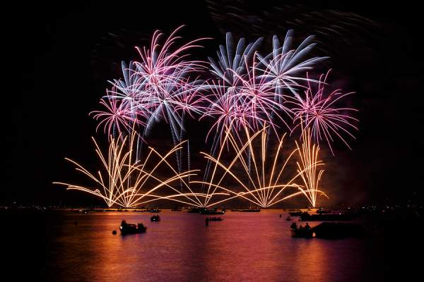 Feuerwerk Züri Fäscht 2013