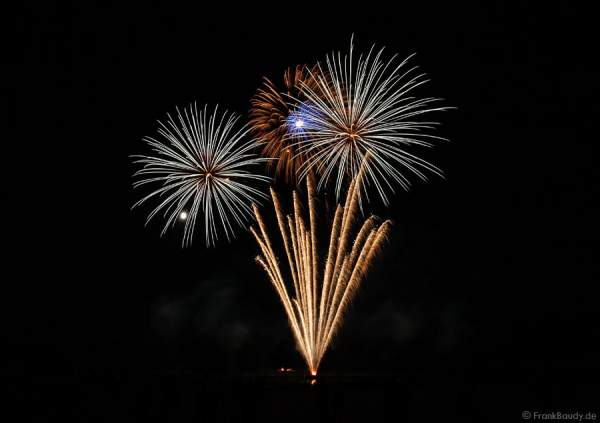 Feuerwerk beim Sommerfest 2013 im Golf Club St. Leon-Rot