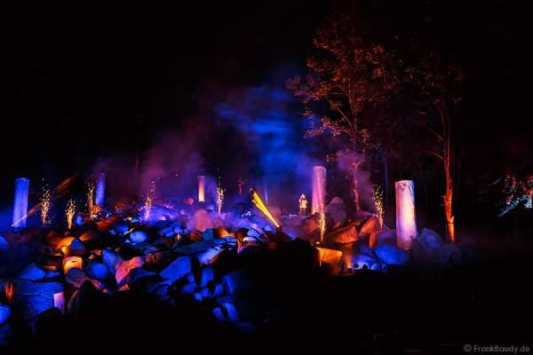 Im Reich der Götter bei Felsenmeer in Flammen 2013