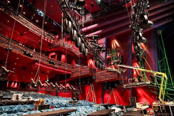 Musical Tarzan im Stage Apollo Theater Stuttgart, ein erster Blick hinter die Kulissen