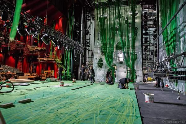 Musical Tarzan in Stuttgart, ein erster Blick hinter die Kulissen