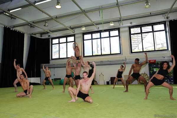 Die Darsteller des Musicals Tarzan in Stuttgart bei den Proben
