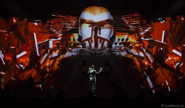 René Baumann alias DJ BoBo bei der Weltpremiere der Show CIRCUS