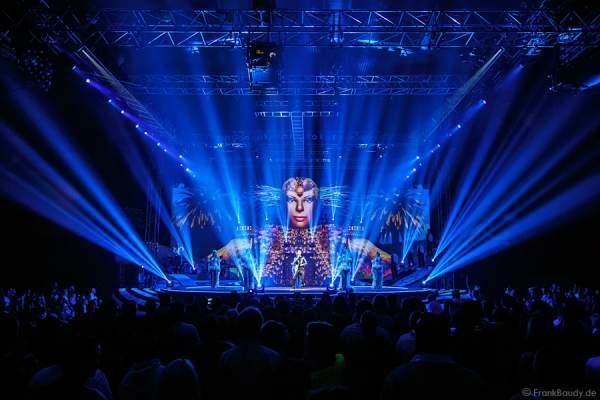 Lightshow bei der Weltpremiere der Show CIRCUS von DJ BoBo