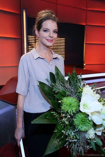 Yvonne Catterfeld bei Verstehen Sie Spaß? live aus der Baden-Arena Offenburg 2013