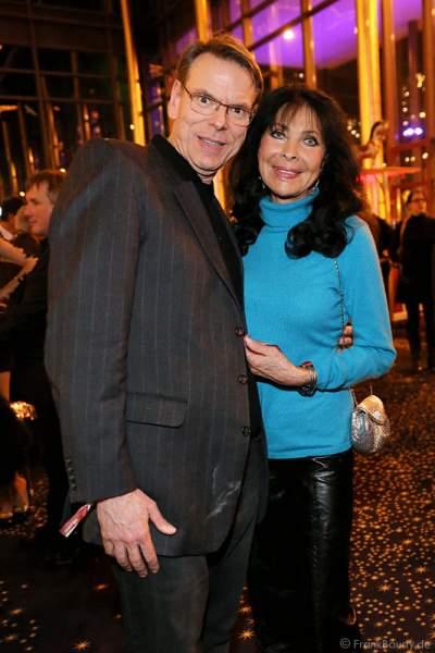 Dunja Rajter und Ehemann Michael Eichler bei der José Carreras Spendengala 2013 im Europa-Park