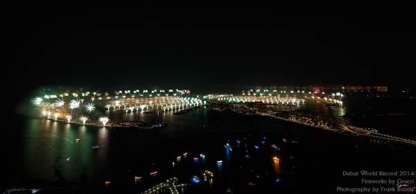 Dubai World Record 2014 Fireworks - Größtes Feuerwerk der Welt