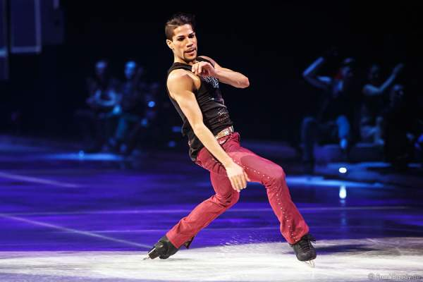 Rohene Ward bei Holiday on Ice - PLATINUM