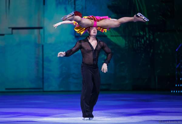 Daria Perminova & Evgeny Belyanin bei Holiday on Ice - PLATINUM