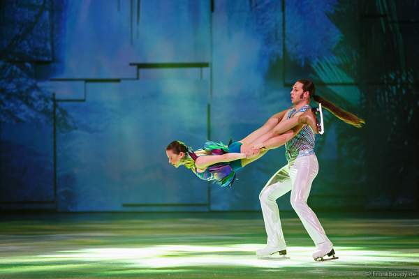 Stanislav Vederskyi und Viktoria Maksiuta bei Holiday on Ice - PLATINUM