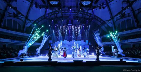 Finale bei Holiday on Ice - PLATINUM