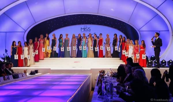 Die Teilnehmerinnen - Miss Germany 2014