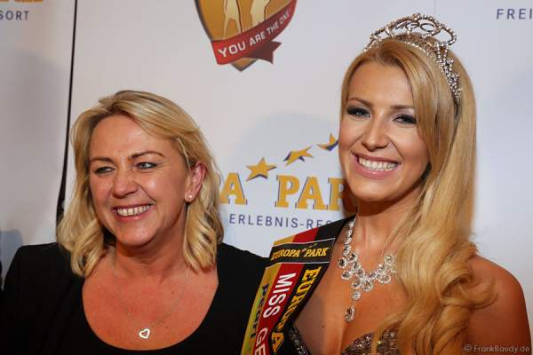 Vivien Konca und ihre Mutter - Miss Germany 2014