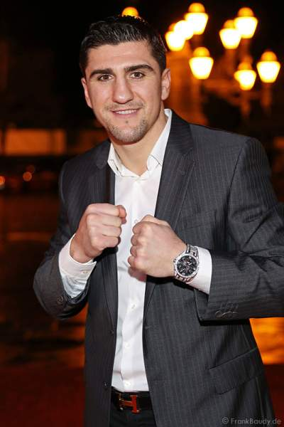 Marco Huck bei Miss Germany 2014