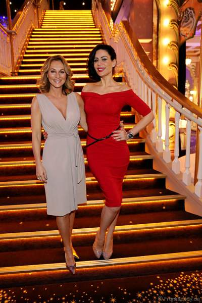 Caroline Beil und Nadja Atwal bei Miss Germany 2014