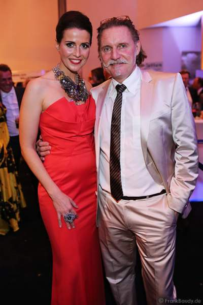 Babett Konau, Miss Germany 2003, und Ingo Lenßen beim Miss Germany 2014 Finale
