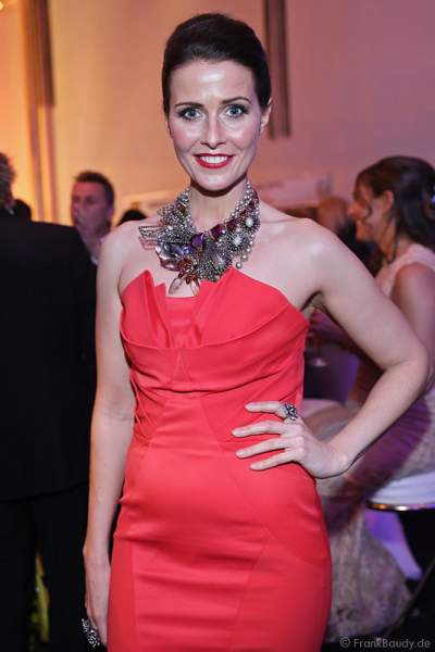 Babett Konau, MISS GERMANY 2003, beim Miss Germany 2014 Finale