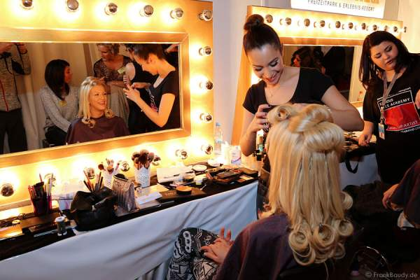 Backstage beim Miss Germany 2014 Finale
