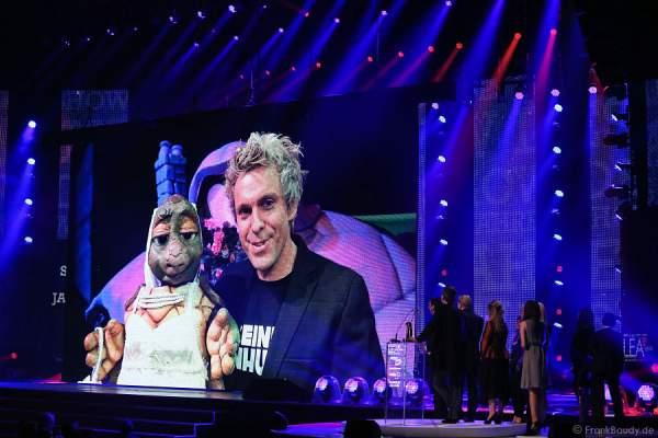 Sascha Grammel  beim PRG Live Entertainment Award (LEA) 2014 in der Festhalle Frankfurt