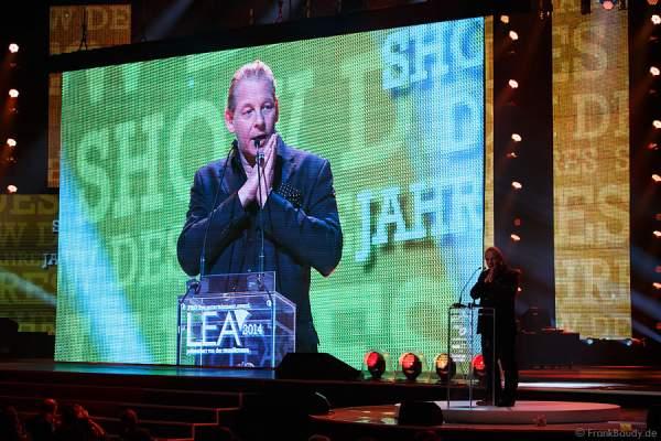 Ben Becker beim LEA 2014