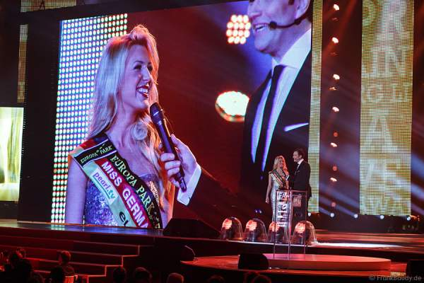 Miss Germany 2014 Vivien Konca beim PRG LEA 2014 - Live Entertainment Award