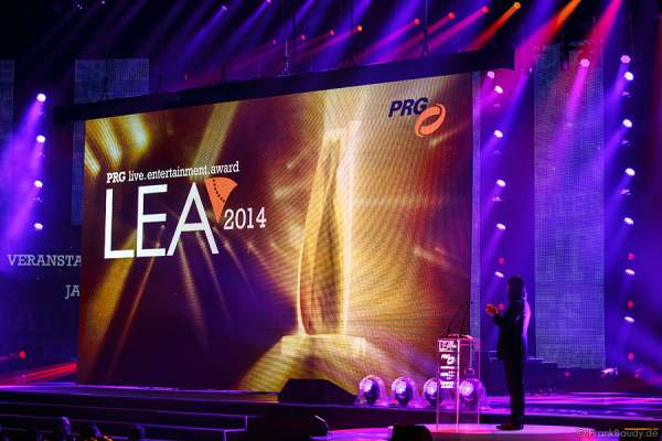 PRG Live Entertainment Award (PRG LEA) 2014