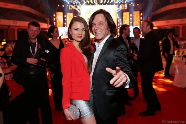 Jürgen Drews mit Tochter Joelina Drews