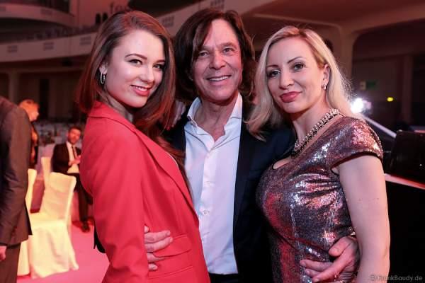 Jürgen Drews mit Tochter Joelina Drews und Frau Ramona Drews