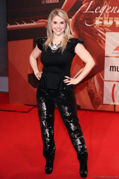 Beatrice Egli beim PRG Live Entertainment Award (LEA) 2014 in der Festhalle Frankfurt