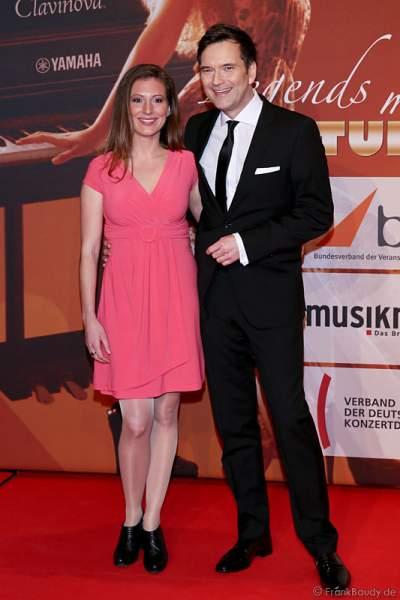 Ingo Nommsen mit Freundin Mara beim PRG LEA 2014 - Live Entertainment Award