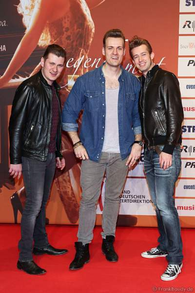 The Baseballs beim PRG Live Entertainment Award (LEA) 2014 in der Festhalle Frankfurt