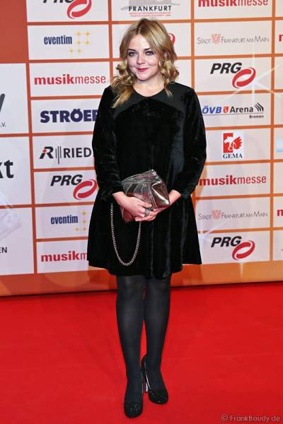 Annett Louisan beim PRG Live Entertainment Award (LEA) 2014 in der Festhalle Frankfurt