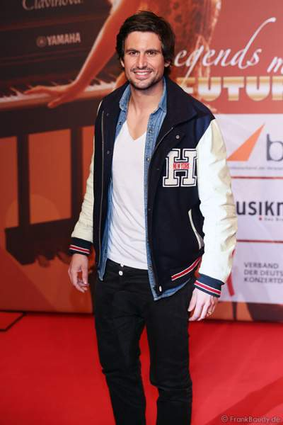 Tom Beck beim PRG LEA 2014 - Live Entertainment Award