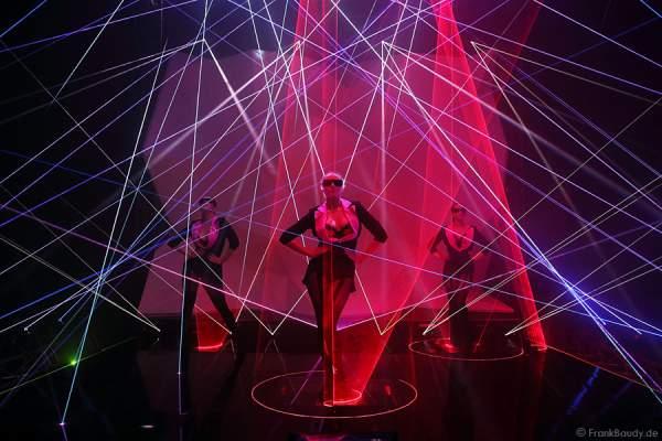 A03_Lasershow der Firma Kvant mit Laser Cabaret auf der Prolight + Sound 2014