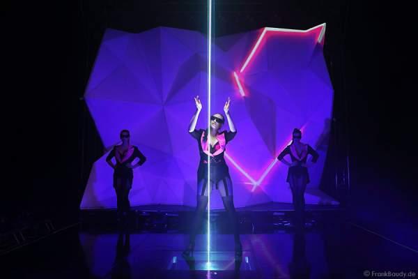 A04_Lasershow der Firma Kvant auf der Prolight + Sound 2014