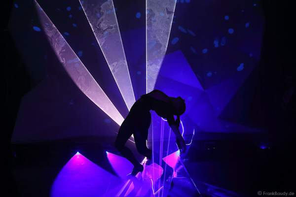 A07_Lasershow der Firma Kvant auf der Prolight + Sound 2014