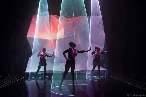 A10_Lasershow der Firma Kvant auf der Prolight + Sound 2014