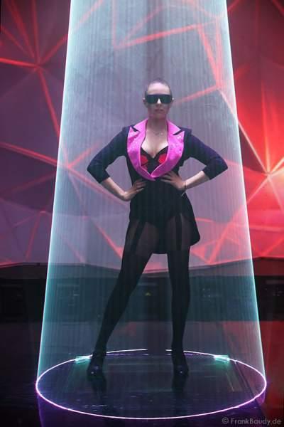 A11_Lasershow der Firma Kvant mit Laser Cabaret auf der Prolight + Sound 2014