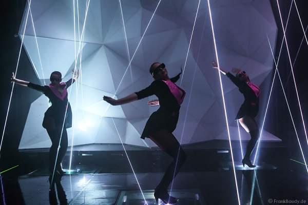 A12_Lasershow der Firma Kvant auf der Prolight + Sound 2014