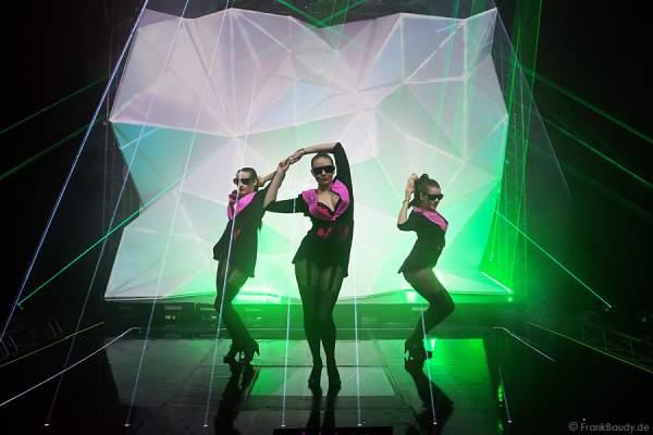 A14_Lasershow der Firma Kvant auf der Prolight + Sound 2014