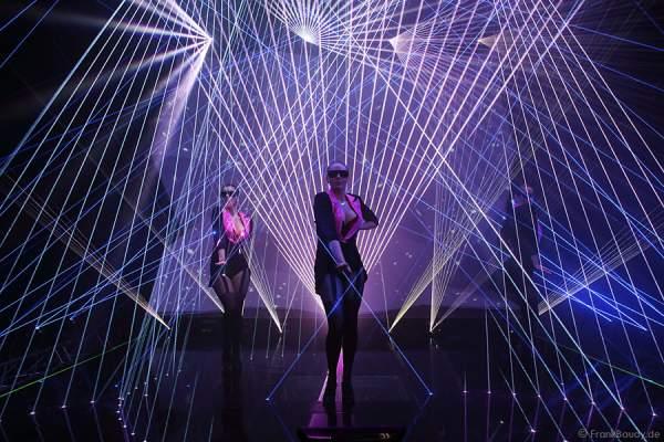 A16_Lasershow der Firma Kvant auf der Prolight + Sound 2014