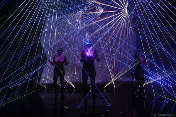A17_Lasershow der Firma Kvant auf der Prolight + Sound 2014